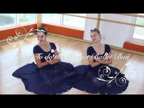 How to do a perfect ballet bun