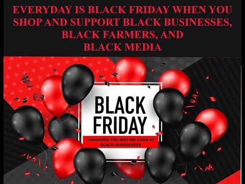 "August-August: ""Black Friday Economics Magic reBuilds Black Communities"""