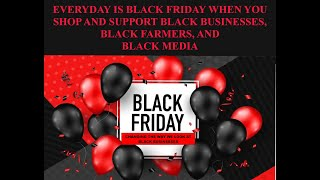 """Black Friday Economics Magic reBuilds Black Communities"""