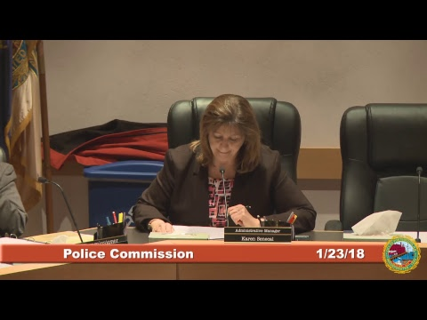 Police Commission 1.23.2018