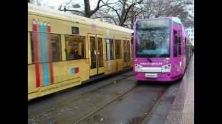 preview picture of video 'Köln ~ Cologne U-bahn Trams December 2012'