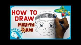 Learn How To Draw Mighty Raju