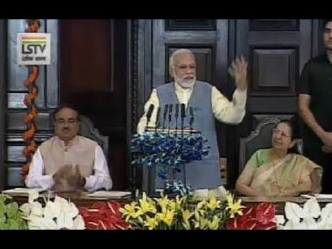 "PM Modi addresses the National Legislators Conference on the theme ""We For Development"""