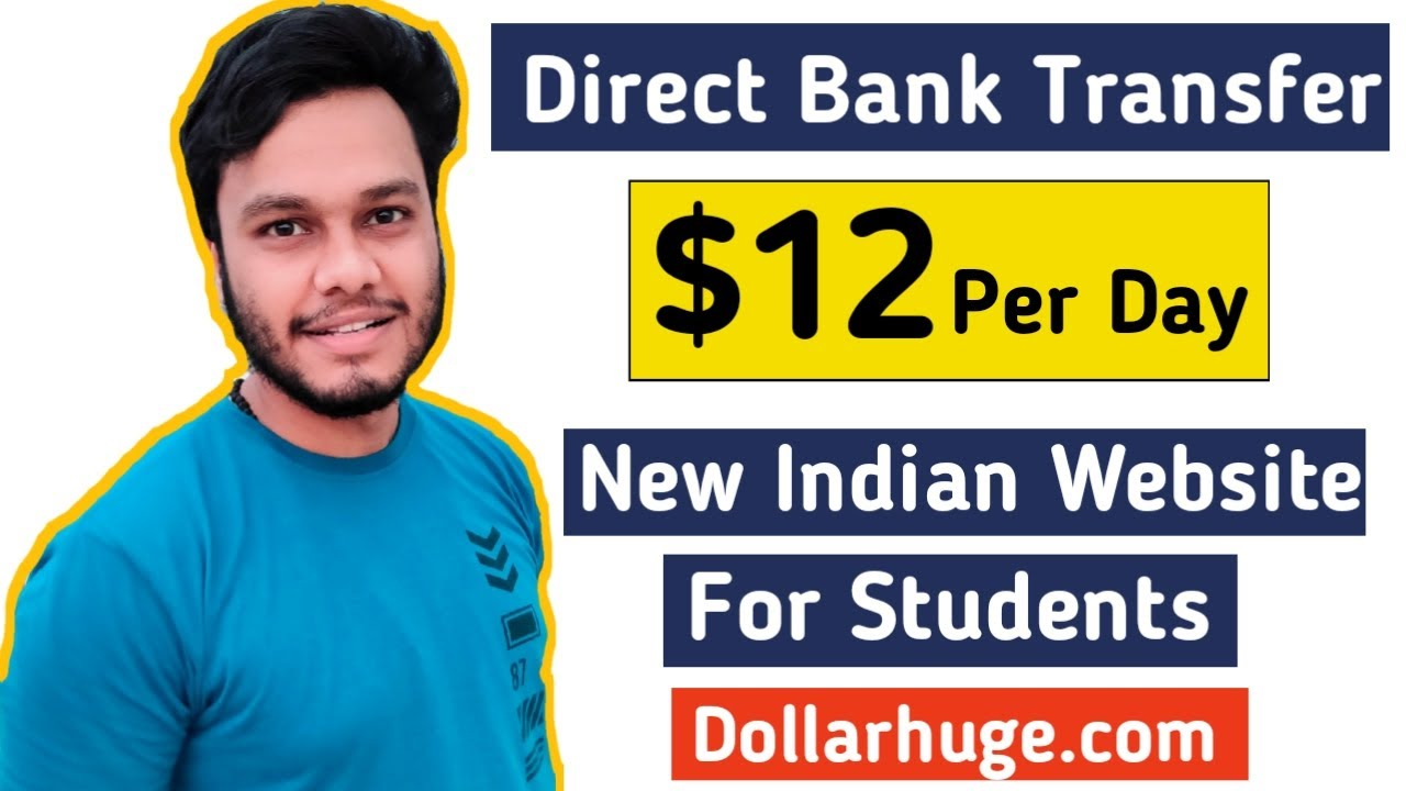 Make $12 Daily! Generate income online from Indian Site Dollarhuge.com|Work from House tasks thumbnail