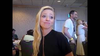 Portia Doubleday Interview - Mr. Robot Season 2 (Comic Con)
