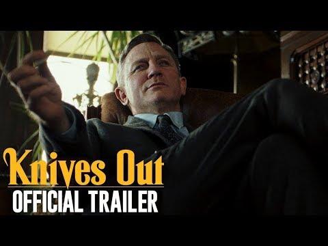 Video trailer för Knives Out (2019 Movie) Official Trailer — Daniel Craig, Chris Evans, Jamie Lee Curtis