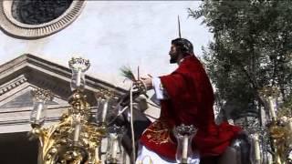 preview picture of video 'La Borriquita - Sorbas (Almería). Primera salida 17 de Abril del 2011'