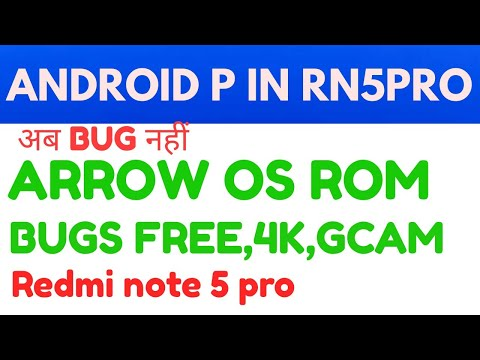 Redmi note 5 pro Download Android pie 9 Ro| Arrow os rom play 4k.Gcam,pubg in HD In Redmi note 5 pro
