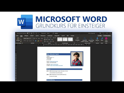 Microsoft Word (Grundkurs für Einsteiger) Deutsch (2020)