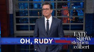 Rudy Giuliani Has Out-Giuliani'ed Himself