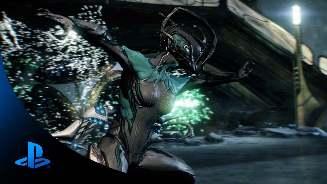 Press X to Ninja: Warframe on PS4