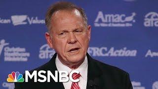A Divide In GOP Remains Over Alabama GOP Senate Candidate Roy Moore | Morning Joe | MSNBC