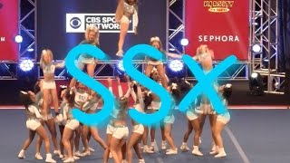 Cheer Extreme SSX Day 2 NCA HIT! Thirsty?
