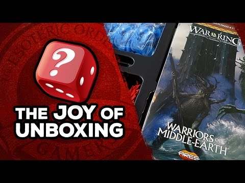 The Joy of Unboxing: Warriors of Middle-Earth