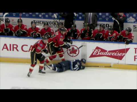 Winnipeg Jets vs. Calgary Flames - Young Stars 2016