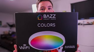 This Smart RGBW Ceiling Light Is A Game Changer | Bazz Smart Home Review And Demonstration
