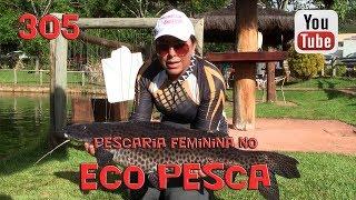 Programa Fishingtur na TV 305 - Pesqueiro Eco Pesca