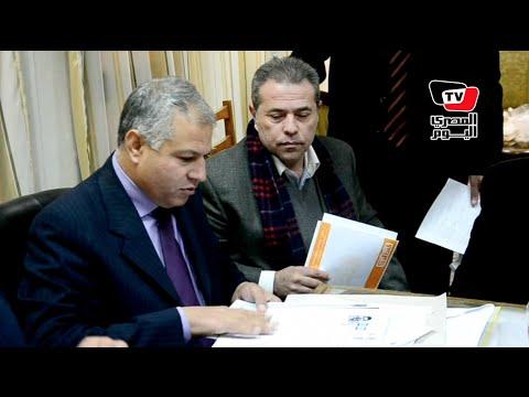 توفيق عكاشة داخل لجنة الانتخابات: «اختارولي الرمز.. انتوا الحكومة»