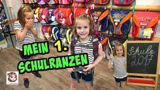 HANNAHS 1. SCHULRANZEN 💼 Shopping! Wir Kaufen Einen Ranzen Und Eine Schultüte 💖