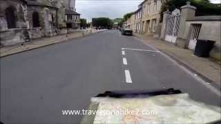 preview picture of video 'Along the Seine from Le Havre to Les Andelys'