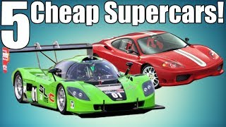 5 Fast Cheap Supercars Under $75K!