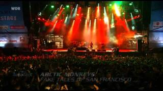 Arctic Monkeys - Balaclava / Fake Tales Of Francisco [HD] (Live Rock Am Ring 2007)