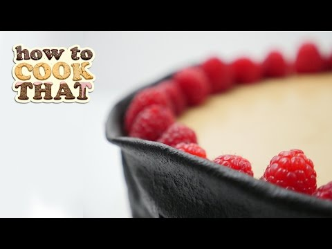 Chocolate Mousse dessert with chocolate LEATHER | How To Cook That by Ann Reardon