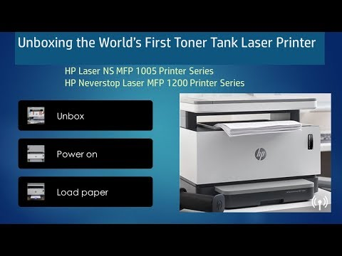 video gioi thieu va huong dan lap dat may in moi hp neverstop laser 1000a1000w
