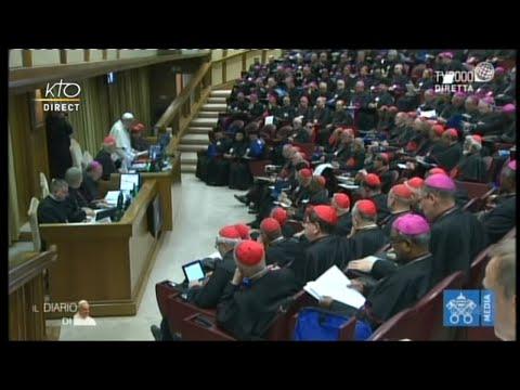 Première congrégation générale du synode sur les jeunes