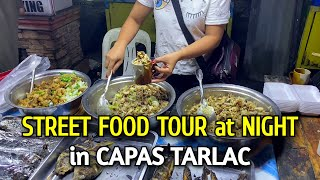 Night Walk & Local Street Food at CAPAS MARKET | FILIPINO STREET FOOD in Capas Tarlac Philippines