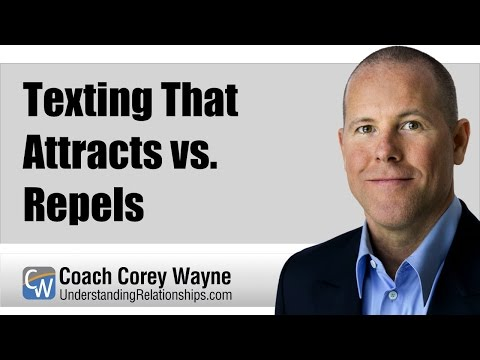 Texting That Attracts vs. Repels