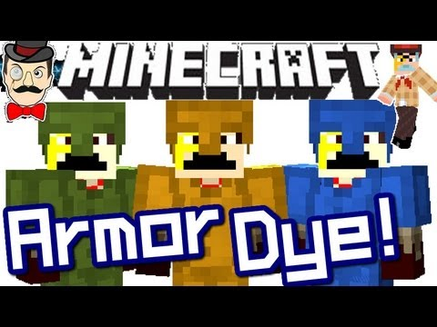 Minecraft NEW ARMOR CAMO DYE ! 1.4
