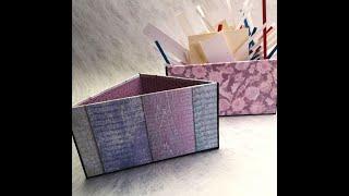 Aufbewahrung / Schubladenordnung / Dreieckige Aufbewahrungsbox