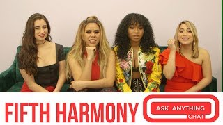 """Fifth Harmony Talk About """"Dinah Being Fine-ah"""" & Becky G Being On Their Tour. Part 1"""