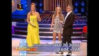 Luciana Abreu interpreta Jennifer Lopez - A Tua Cara Nao Me e Estranha 2