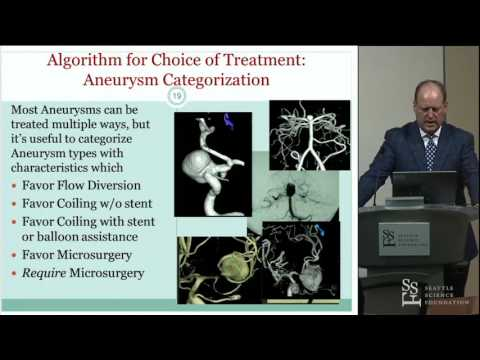 Decision Making Aneurysm Surgery - B. Gregory Thompson, MD