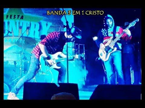 Show banda 3 em 1 Cristo