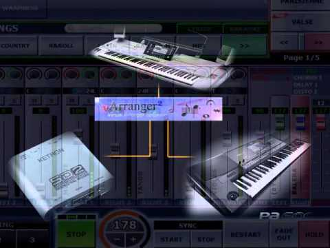 Yamaha Tyros 5 Styles in Ketron SD2 and Korg Pa600 sounds