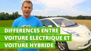 Comprendre les différences entre les voitures électriques et les voitures hybrides