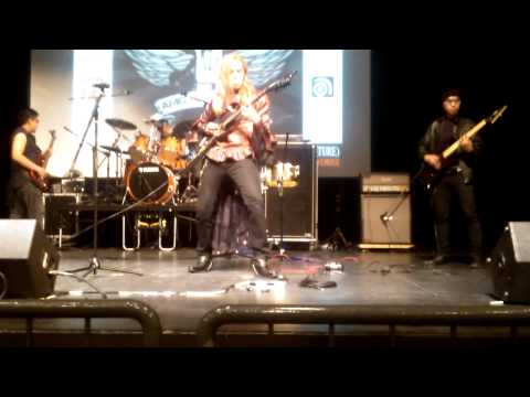 Abyssal Dawn-Into The Darkness Live Performance at Amg  jam Fest 2012