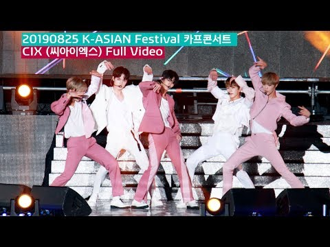 CIX (씨아이엑스) Full Ver. (What You Wanted + Movie Star + The One) 4K 60P 직캠 190825