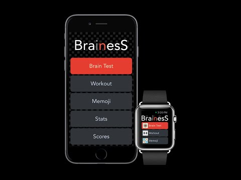 Brainess - Train your brain - Game for iPhone, iPad and Apple Watch
