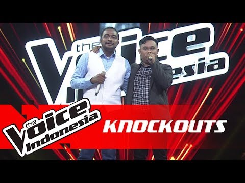 Philip vs King | Knockouts | The Voice Indonesia GTV 2018