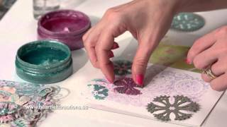 All Geared up Easy Mixed Media Tips