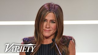 Jennifer Aniston Has Special Message for Young Girls - Full