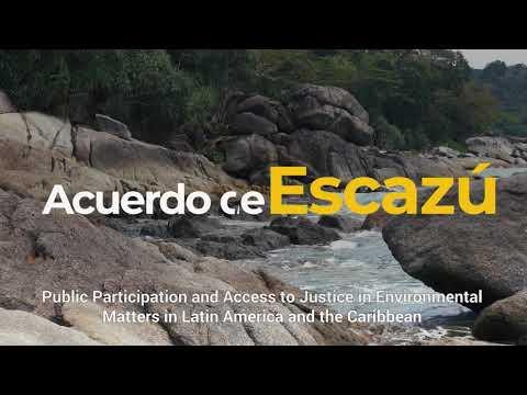 Acuerdo de Escazú, por una gestión ambiental más transparente, inclusiva y colaborativa