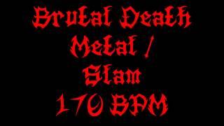 Slam / Brutal Death Metal (170 BPM) Free Drum Track