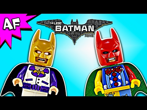 Vidéo LEGO The Batman Movie 30607 : Batman en tenue disco - Batman en tenue de clown (Polybag)