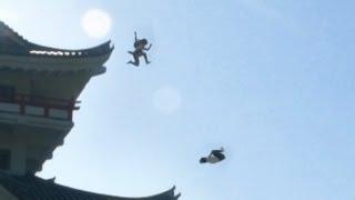 【静岡県】まるで忍者!?女子高生2人の壮大な追いかけっこ