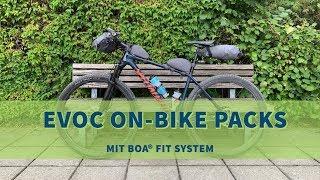 Produkttest - Bikepacking Taschen von EVOC mit BOA® FIT SYSTEM